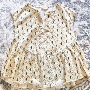 Bohemian style blouse